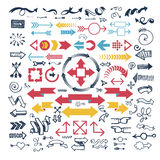 Icone della freccia di vettore royalty illustrazione gratis