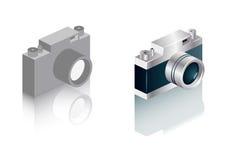 icone della macchina fotografica del telemetro Fotografia Stock Libera da Diritti