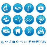 Icone della medicina Immagine Stock Libera da Diritti
