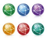 Icone della rete globale