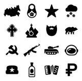 Icone della Russia Fotografie Stock