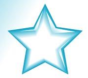 Icone della stella Fotografia Stock