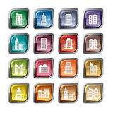 Icone delle costruzioni royalty illustrazione gratis