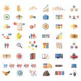 Icone delle icone, del Internet & di Web site di Web illustrazione di stock