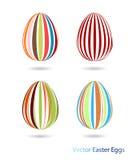 Icone delle uova di Pasqua Immagine Stock Libera da Diritti