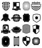 Icone dello schermo impostate Fotografia Stock