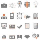 Icone di affari illustrazione di stock