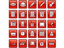 Icone di affari Immagine Stock