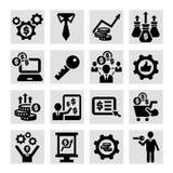 Icone di affari Immagini Stock Libere da Diritti