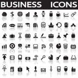 Icone di affari Fotografia Stock Libera da Diritti