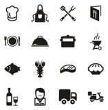 Icone di affari di approvvigionamento royalty illustrazione gratis