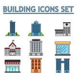 Icone di affari illustrazione vettoriale