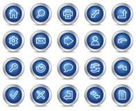Icone di base di Web Immagine Stock