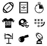 Icone di calcio Fotografia Stock
