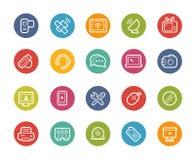 Icone di comunicazioni -- Serie di Printemps Fotografia Stock