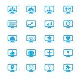 Icone di concetti dell'innovazione di affari messe Immagine Stock Libera da Diritti