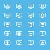 Icone di concetti dell'innovazione di affari messe Fotografie Stock Libere da Diritti