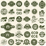 Icone di Eco. Segni di ecologia impostati. Immagine Stock Libera da Diritti