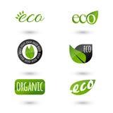 Icone di ecologia messe Immagini Stock Libere da Diritti