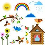 Icone di estate royalty illustrazione gratis