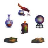 Icone di fantasia Fotografia Stock