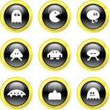 Icone di gioco illustrazione vettoriale