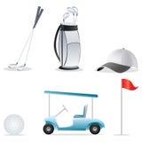 Icone di golf royalty illustrazione gratis