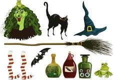 Icone di Halloween Immagine Stock Libera da Diritti