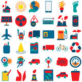 Icone 2 di idea di energia illustrazione di stock
