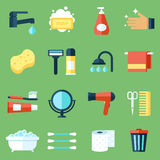 Icone di igiene illustrazione di stock