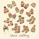 Icone di inverno Royalty Illustrazione gratis