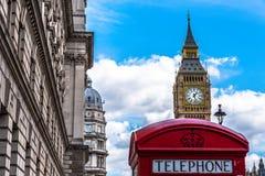 Icone di Londra Fotografie Stock Libere da Diritti