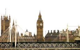 Icone di Londra - Big Ben Immagine Stock