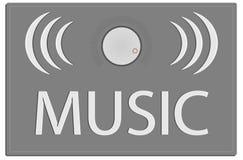 Icone di musica Immagine Stock