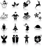 Icone di Natale Fotografia Stock Libera da Diritti