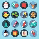 Icone di Natale Immagine Stock