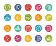 Icone di navigazione di web -- Serie di Printemps Fotografia Stock