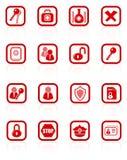 Icone di obbligazione Fotografia Stock Libera da Diritti