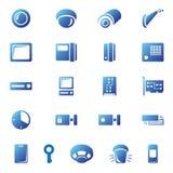 Icone di obbligazione Fotografia Stock