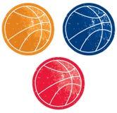 Icone di pallacanestro Immagini Stock Libere da Diritti
