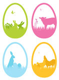 Icone di Pasqua Fotografie Stock