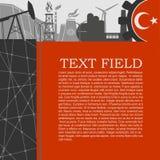 Icone di potere e di energia messe Progettazione dell'opuscolo Fotografia Stock Libera da Diritti