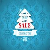 Icone di progettazione di Natale messe Scheda di nuovo anno felice Fotografia Stock Libera da Diritti
