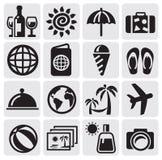Icone di resto Fotografie Stock