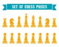 Icone di scacchi Illustrazione di vettore Fotografia Stock Libera da Diritti