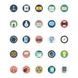 Icone di SEO Isolated Vector e di web che possono essere modificate o pubblicare facilmente illustrazione di stock