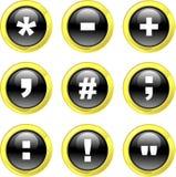 Icone di simbolo Immagini Stock Libere da Diritti