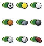 Icone di sport illustrazione vettoriale