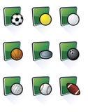 Icone di sport royalty illustrazione gratis