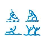 Icone di sport Immagini Stock Libere da Diritti